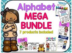 Save a  BUNDLE  with this bundle!This MEGA bundle includes 7 of my Alphabet Products:Check them out here:Click here for Alphabet Letter Sort by Elementary at HEART Click here for teddy Bear Letter Recognition Flash Cards by Elementary at HEART Click here for Beginning Sounds Identification Coloring by Elementary at HEARTClick here for Alphabet Letter Puzzles by Elementary at HEARTClick here for Alphabet Mini Booklets by Elementary at HEARTClick here for Beginning Sounds Bingo by Elementary…