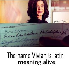 Hmmm... They say nothing on Pretty Little Liars is a coincidence.