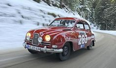 Saab 96, winner of 1960-62 RAC Rally 1962-63 Monte Carlo Rallies has two #WRC victories, both came at Rally Sweden