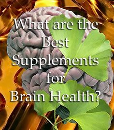 What are the Best Supplements for Brain Health? 12 supplements that can improve memory, sharpen skills, help you study and prevent/delay dementia like Alzheimer's. Many have other benefits as well. Worth a read to boost your brain power! #L4L #animals #F4F #vitaminD #FF #animals #F4F #followback