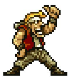 Marco Rossi - Metal Slug Series - still one of the best games ever