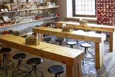 The #winners of the 2014 #Eat Out Mercedes-Benz #Restaurant Awards were announced on Sunday 16 November 2014. Picture: Chefs Warehouse interior. Photo courtesy of the restaurant.
