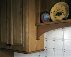 Longleaf Lumber reclaimed American Chestnut custom-milled for home kitchen cabinetry.