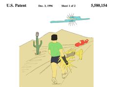 Title - Glow-in-the-dark glove apparatus Patent No - US 5,580,154 A Inventors - James D. Coulter, Jovee Coulter