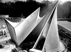 Philips Pavilion Change this Brussels, Belgium by Le Corbusier, Iannis Xenakis