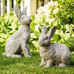 Bunny Garden Statues | Gumpu0027s