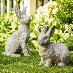 Bunny Garden Statues | Gump's
