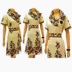 Model Dress Batik KODE : DB 3767 - DB 3770 Call Order : 085-959-844-222, 087-835-218-426 Pin BB 23BE5500 Model Dress Batik KODE : DB 3767 - DB 3770  Harga Retailer : Rp.95.000,-.-/pcs  ukuran : Allsize Baju Dress Batik Diana Ket : Baju Dress Batik dengan model Batik kerah samping rempel, Model Batik Dress bross bunga di samping, lengan pendek, kerut belakang, sabuk terlepas di pinggang. Ukuran   Allsize (Panjang 106cm dan lebar 50cm) Bahan Batik : Katun.