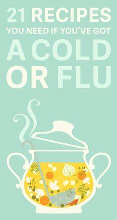 21 Recipes Anyone Who's Always Sick Needs
