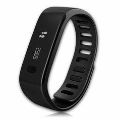 Еще один цветовой вариант фитнес-браслета MyKronoz ZeFit - черный. Фитнес-трекер MyKronoz ZeFit считает калории, шаги, дистанцию, отображает время на OLED-дисплее. #fitess #fitnesstracker
