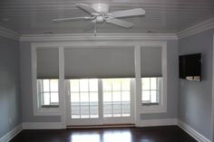 Is built-in patio door blinds a good choice | Drapery Room Ideas