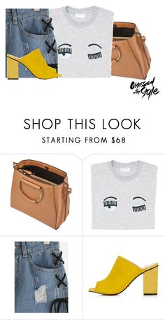 """""""#denimshorts"""" by faye-valentine ❤ liked on Polyvore featuring Miss Selfridge and Topshop"""