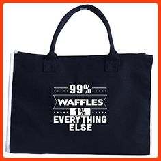 99 Percent Waffles 1 Percent Everything Else - Tote Bag