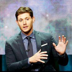 Jensen Ackles being hella attractive