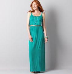 Trend #4 - Make it a Maxi - Twist Strap Maxi Dress from our Summer Trends blog: http://blog.hipiti.com found at Ann Taylor LOFT