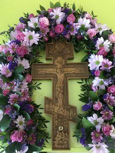 Church Flowers, Altar, Ephemera, Catholic, Floral Wreath, Gardening, Wreaths, Frame, Home Decor