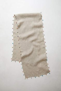 Chindi Table Runner - anthropologie.com