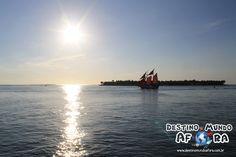 Famoso pôr-do-sol em Key West, Flórida, Estados Unidos. Lugar incrível! Foto: Destino Mundo Afora