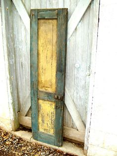 Antique Farmhouse Shutter REPURPOSE READY by NostalgicHome on Etsy, $150.00