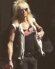 Someone took a photo of Michael while he was walking in Finland 0.0 love this photo. #MichaelMonroe #Legend #Icon #HanoiRocks