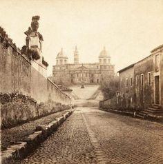 Via delle Quattro Fontane (Henri Plaut, 1859)