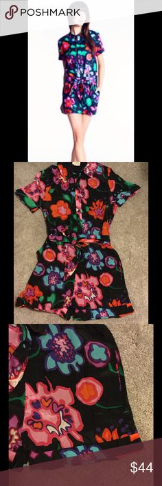 Kate Spade New York Brooke floral silk romper Like new Kate Spade New York Brooke silk floral romper size 2. Amazing!!!! kate spade Other