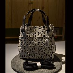 New female bag shoulder box parcel leather cowhide hollow out flowers hand  rivet slanting across the package hand carry the small bags 82e7d2a3850bb