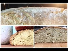 Pane con Lievito Madre Naturale - YouTube