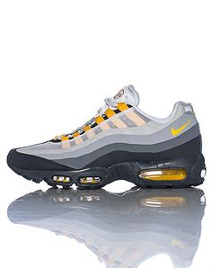 new product 2555b 41be8 NIKE MENS AIR MAX 95 SNEAKER- Grey Air Max 95, Nike Air Max,