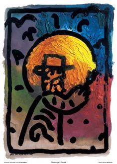 Hommage a Vincent, Polish Poster Designer: Jan Mlodozeniec