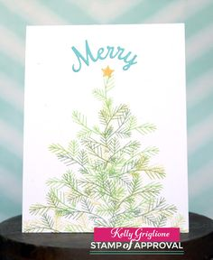 The Candy Cane Lane Stamp of Approval Collection makes holiday card making easy!   www.cpstampofapproval.com