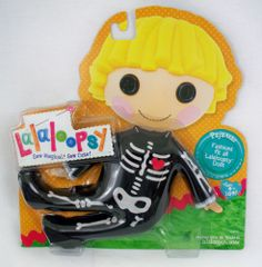 Lalaloopsy Skeleton Pajamas Outfit New NRFP