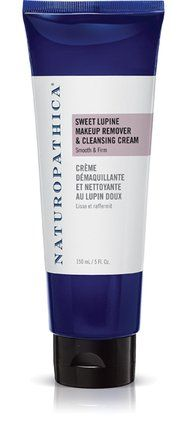 Naturopathica Sweet Lupine Makeup Remover & Cleansing Cream 5.0 oz. 2-in-1 cleanser and makeup remover. Cleanses, hydrates and plumps the skin. For all skin types. For blemishes / oil-control. For smoother, younger looking skin. Animal friendly. ECOCERT. Leaping Bunny Certified. Gluten Free. Vegan. DIRECTIONS: Apply a dime size amount to moist skin and gently massage face. Rinse. 5.0 oz.