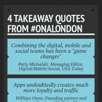 Infographic: 4 takeaway quotes from #ONALONDON