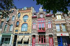 Art Nouveau buildings in Venlo, Netherlands, Europe