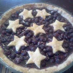Fresh Blueberry Pie
