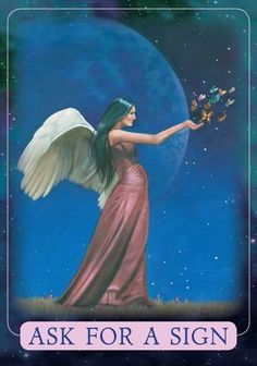 Oracle Card Ask For A Sign | Doreen Virtue - Official Angel Therapy Website
