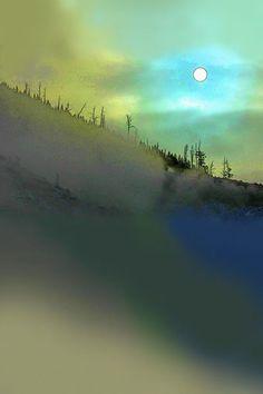 'Art of Landscape  |  105' von Dirk h. Wendt bei artflakes.com als Poster oder Kunstdruck $18.29