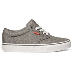 Vans Graycoral Atwood Sneaker - Women's ($55) ❤ liked on Polyvore featuring shoes, sneakers, low top, vans shoes, vans footwear, low profile sneakers and canvas sneakers