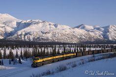 Ted Smith-Peterson Trip Report. Alaska Railroad and the Alaska Range.