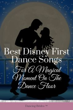 Looking for the perfect song for your first dance? Prepare to be swept off your feet with romantic music from your favorite Disney movies. These love songs will make your first dance as husband and wife a magical moment to cherish. Take a listen below! Disney Wedding Songs, Unique Wedding Songs, Wedding Songs Reception, First Dance Wedding Songs, Disney Love Songs, Country Wedding Songs, Wedding Song List, Wedding Ideas To Make, Wedding Music