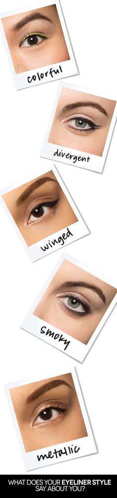 The way you apply your eyeliner says more than you think!