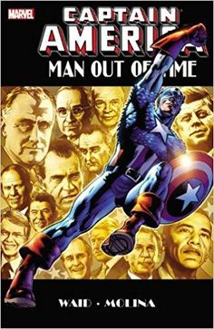 Captain America: Man Out of Time. HC