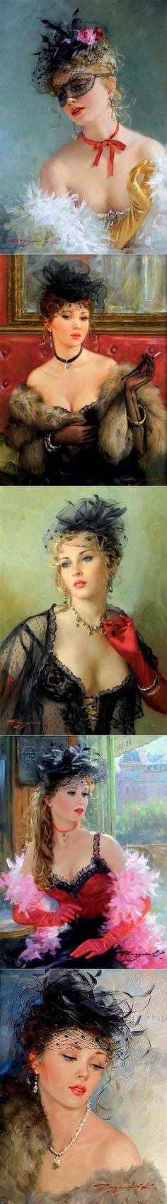 Художник Константин Разумов: 'О, эта женщина в дымке вуали... ' | искусство | Постила