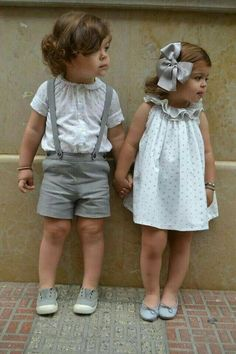 Love these matching boys and girls outfits
