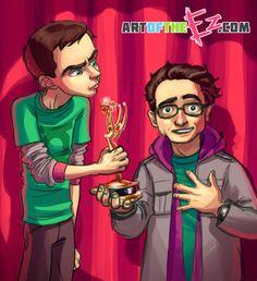 Emmys Big Bang Theory Style by The-Ez.deviantart.com on @deviantART