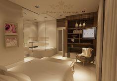 bathroom project projeto quarto por Rubens Davi Depiné