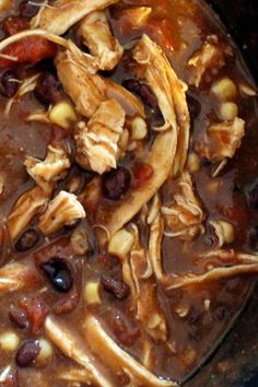A Do-What-You-Want-With-It Sante Fe Style Chicken from the Slow Cooker (with 5 ideas)
