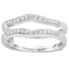 Morgan Jewelers Diamond Wrap: White Gold 1/10ctw approx $699.99