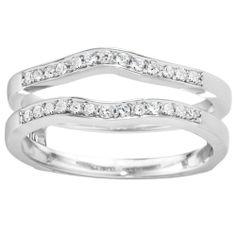 Morgan Jewelers Diamond Wrap: White Gold 1/10ctw approx $699.99